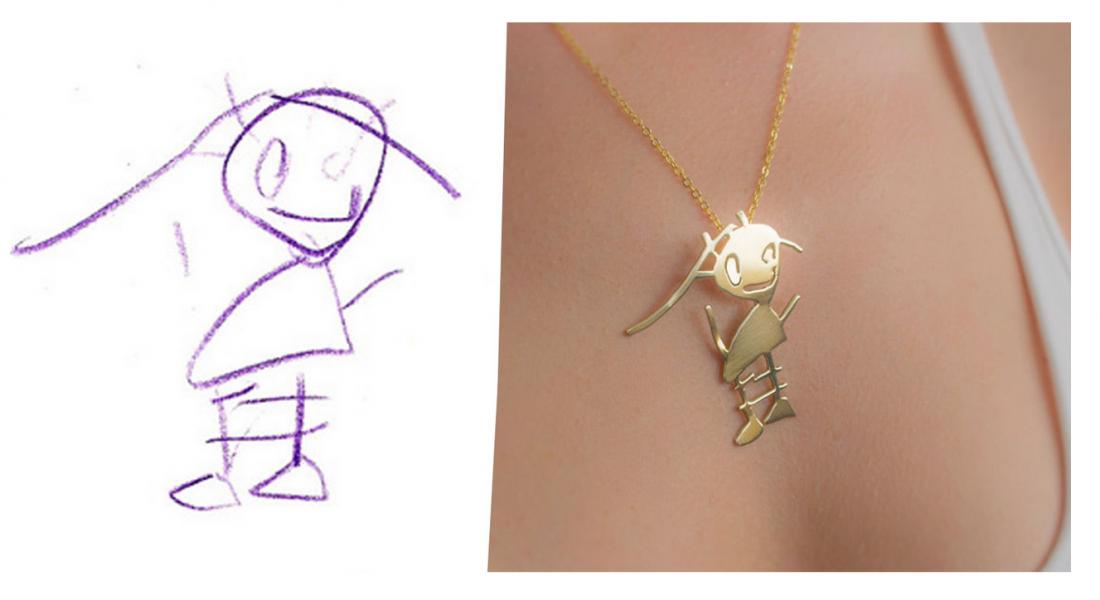 Tasarım Takarım, Çocuk Çizimlerini Takılara Dönüştürüyor