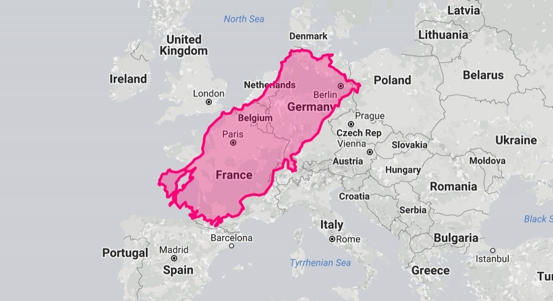 Ülkelerin Gerçek Büyüklüğünü Gösteren İnteraktif Harita