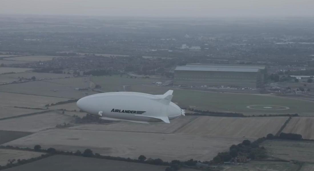 En Büyük Hava Taşıtı Airlander 10 Deneme Uçuşlarına Başladı