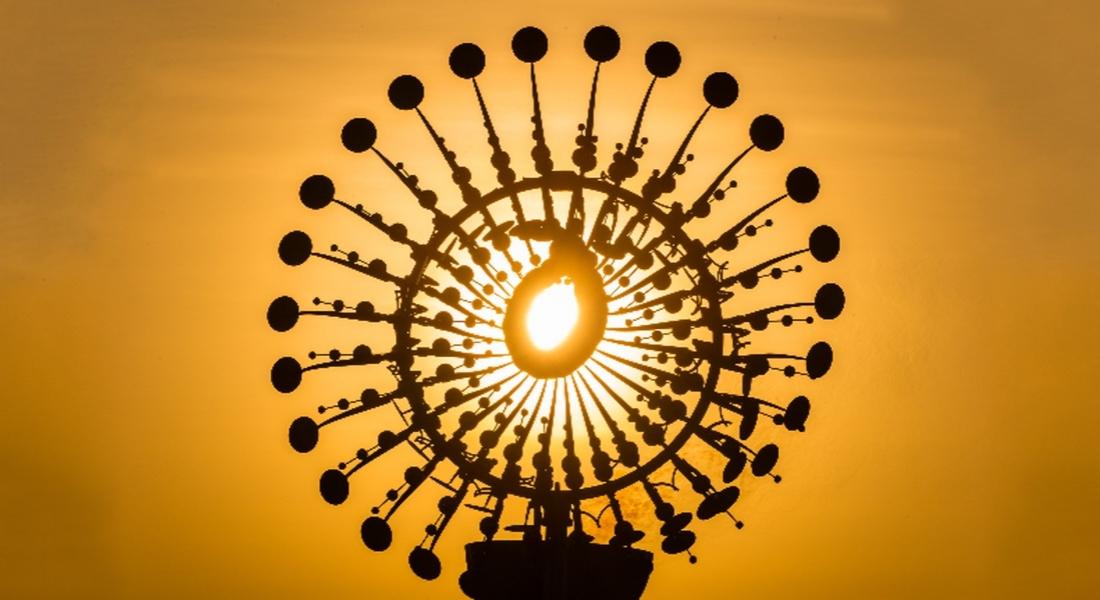 Rio 2016'nın Açılış Törenindeki Büyüleyici Kinetik Heykel
