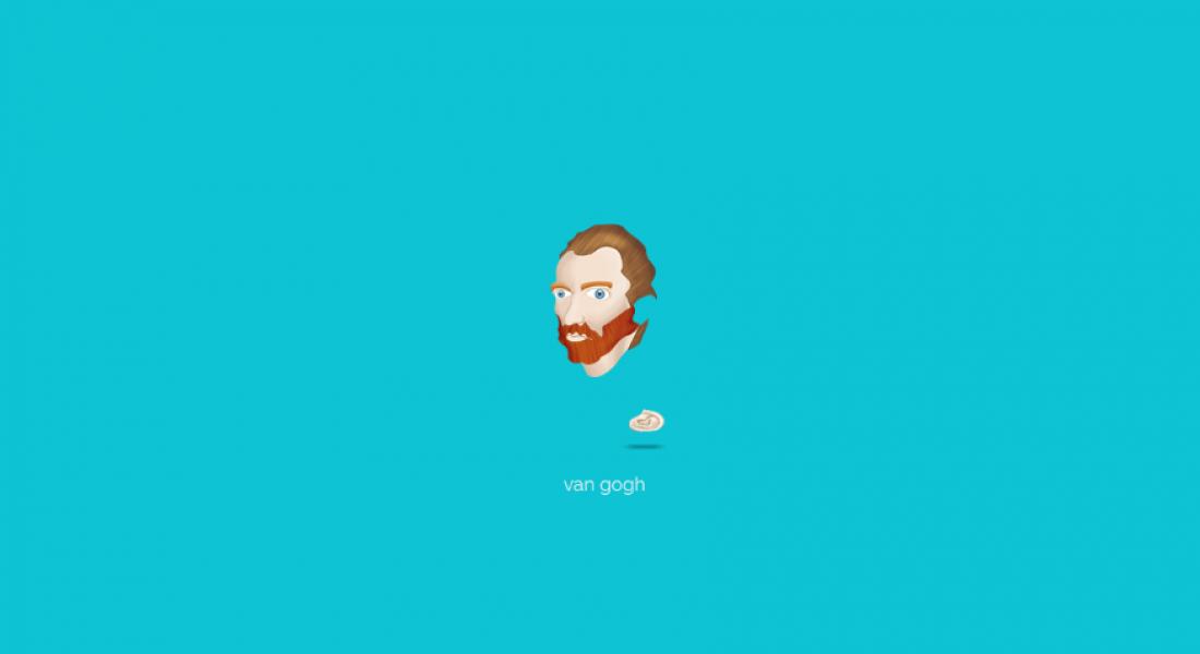 Türkan Kalbiyeva'dan Ünlü Ressamların GIF Emojileri