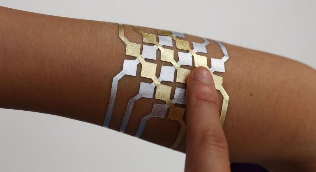 Akıllı Cihazları Kontrol Edebilen Geçici Dövme