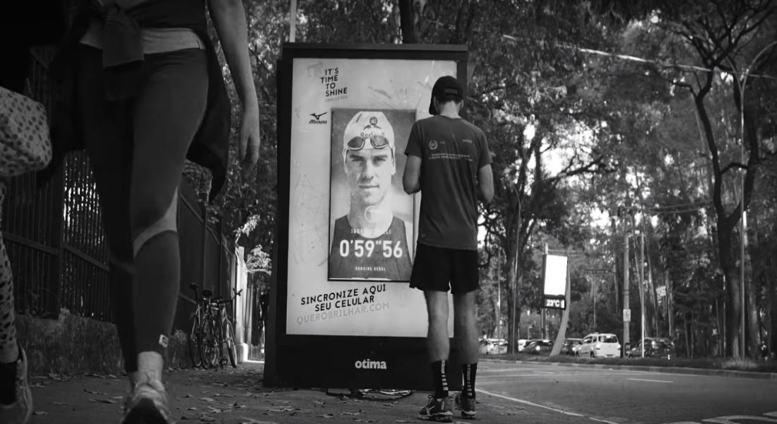Mizuno, Otobüs Durakları Arasında Koşu Yarışına Çağırıyor