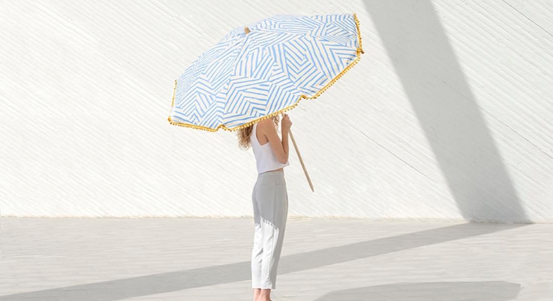 Tek Düzeliğe Alternatif Plaj Şemsiyesi Tasarımı