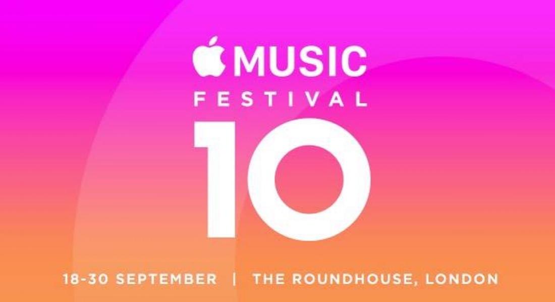 Apple Music Festival 10. Yılını Kutluyor