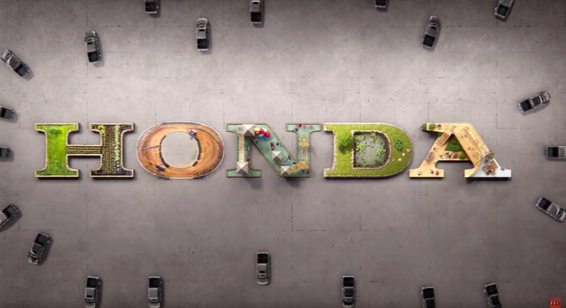 Honda'dan Ahenk Dolu Stop-Motion Reklam Filmi