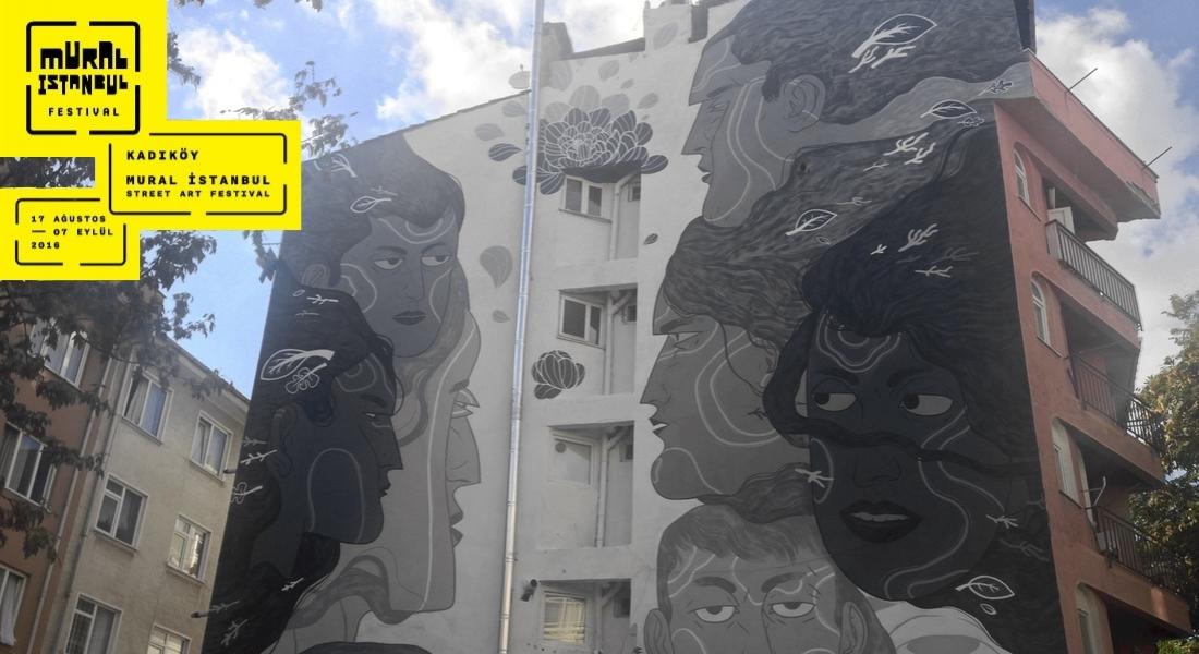 Gözlemlerini Murala Dönüştüren Ares'in Yeni Çalışması [Mural İstanbul 2016]