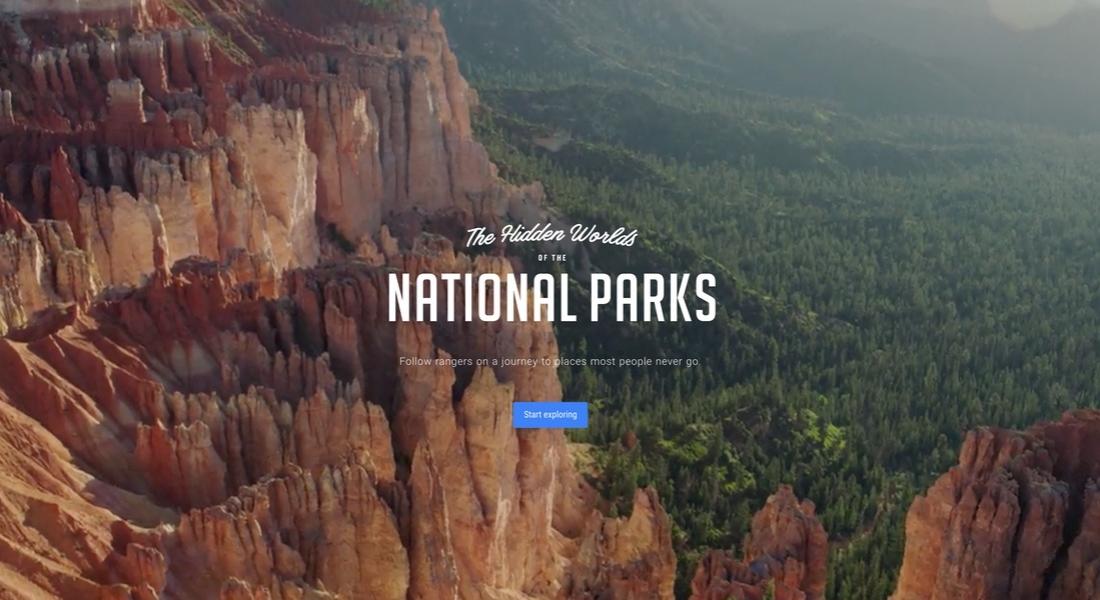 Google'la ABD'nin Ulusal Parklarında Sanal Gerçeklik Yolculuğu