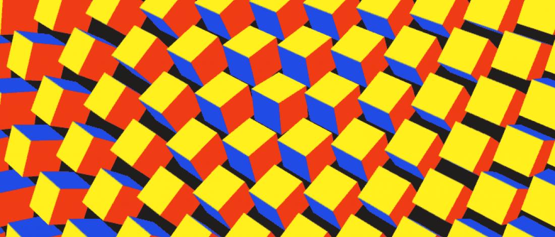 Hipnotize Eden Geometrik GIF'ler