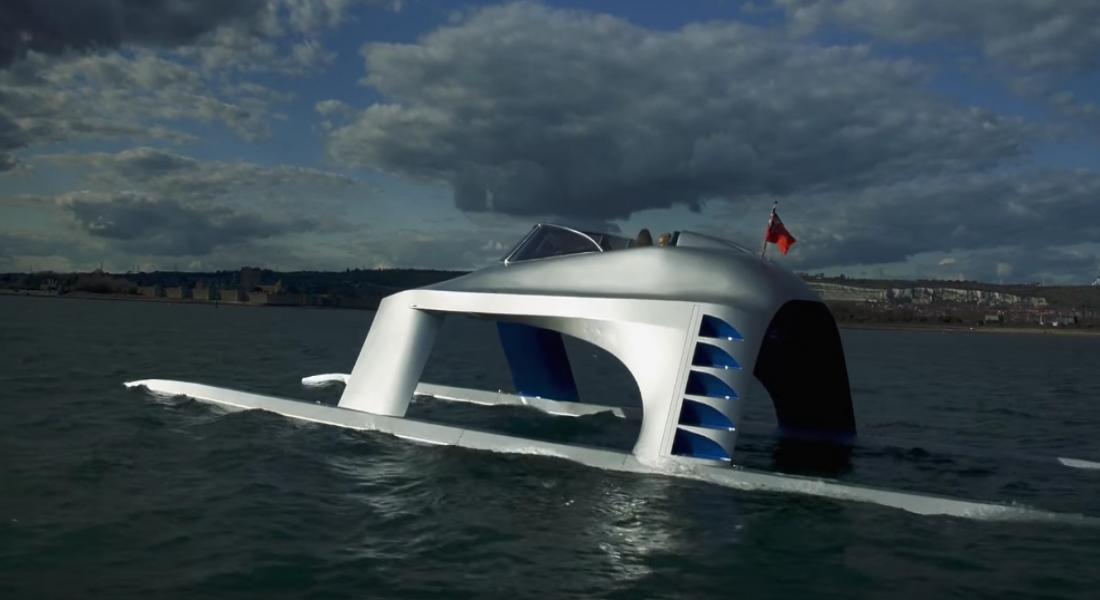Glider SS18: Katamaran ve Yatın Birleşimi Sürat Teknesi