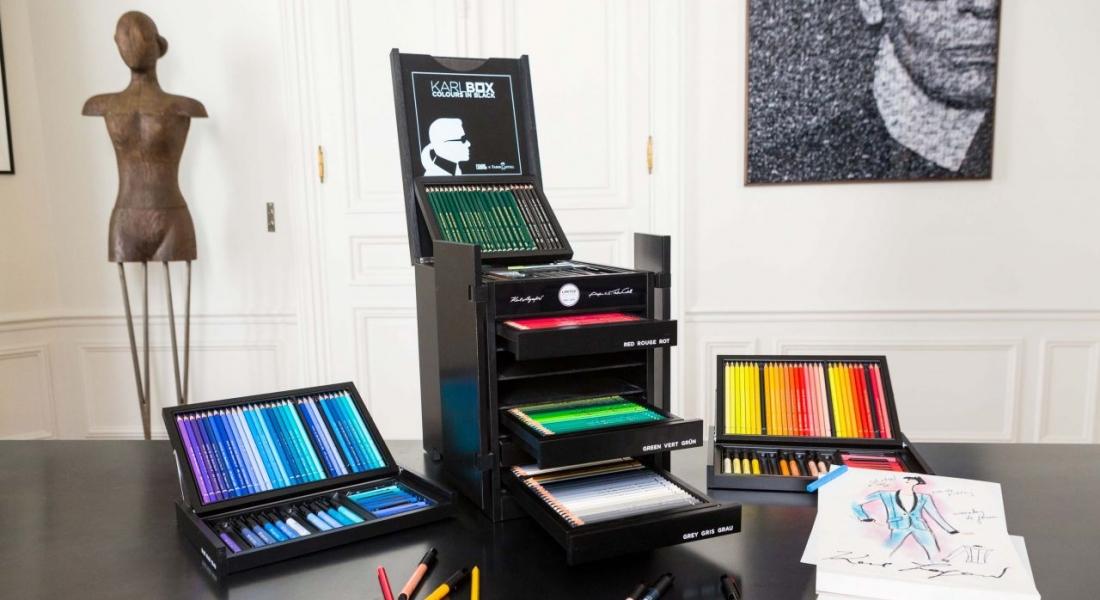 Karl Lagerfeld'den Özel Tasarım Boya Kalemi Seti