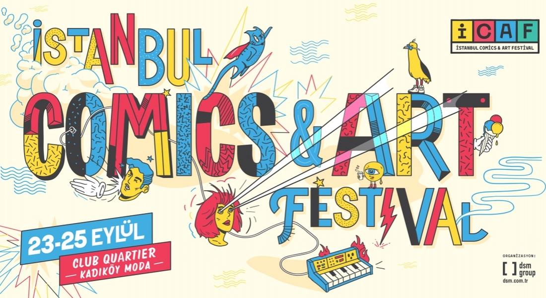 Çizgiye Dair Tüm Sanatların Festivali: İstanbul Comics & Art Festival