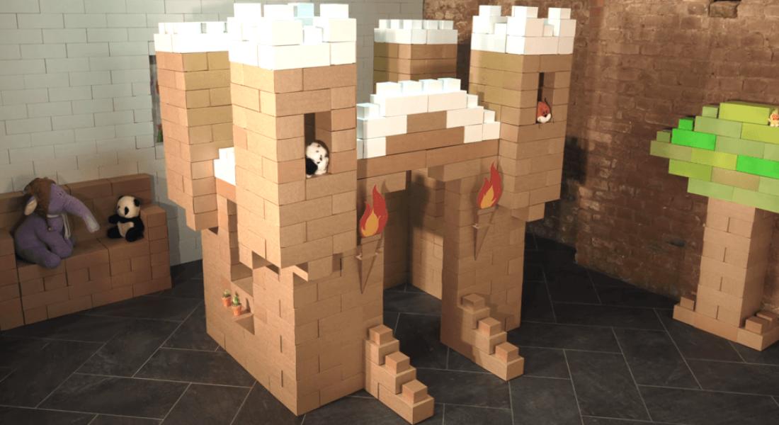 Çocuklar İçin Büyük Boy, Karton LEGO Blokları