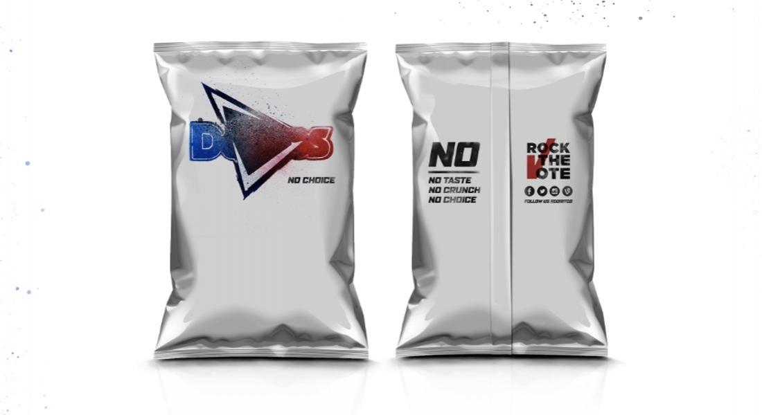 Doritos'tan Başkanlık Seçimlerinde Oy Kullanmayacaklar için Özel Cips