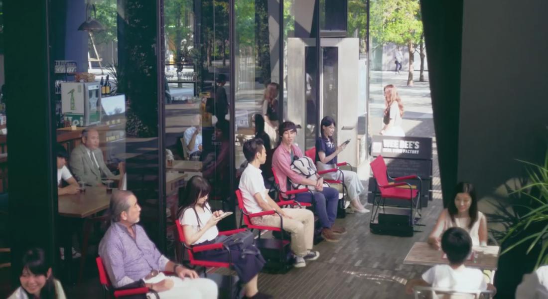 Nissan'dan Ayakta Sıra Beklemeye Son Veren Otonom Sandalye
