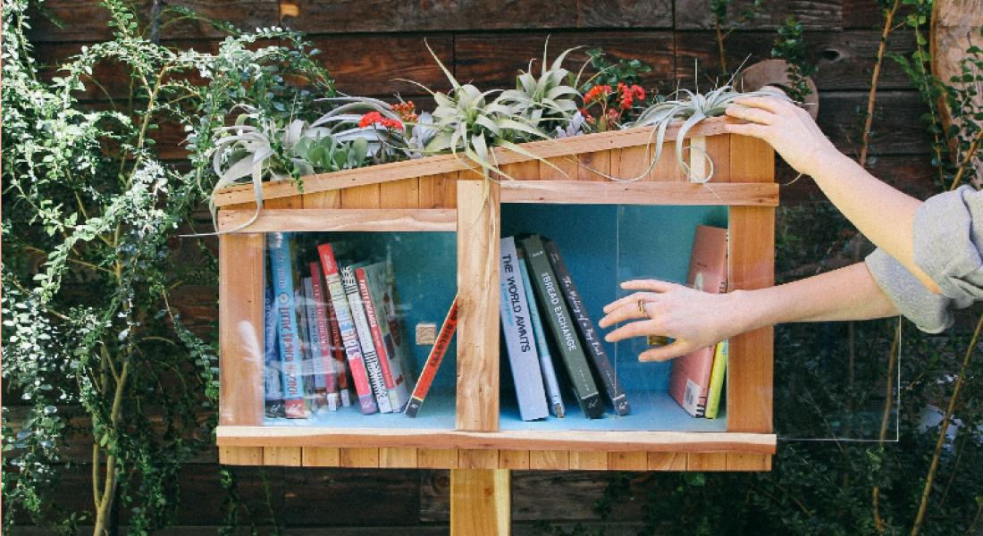 Ücretsiz Mini Sokak Kütüphanelerini Geliştirme Sırası Tasarımcılarda ve Mimarlarda