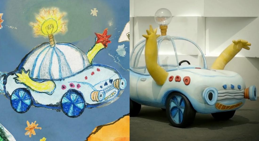 Hyundai Çocukların Otomobil Çizimlerini Gerçeğe Dönüştürdü