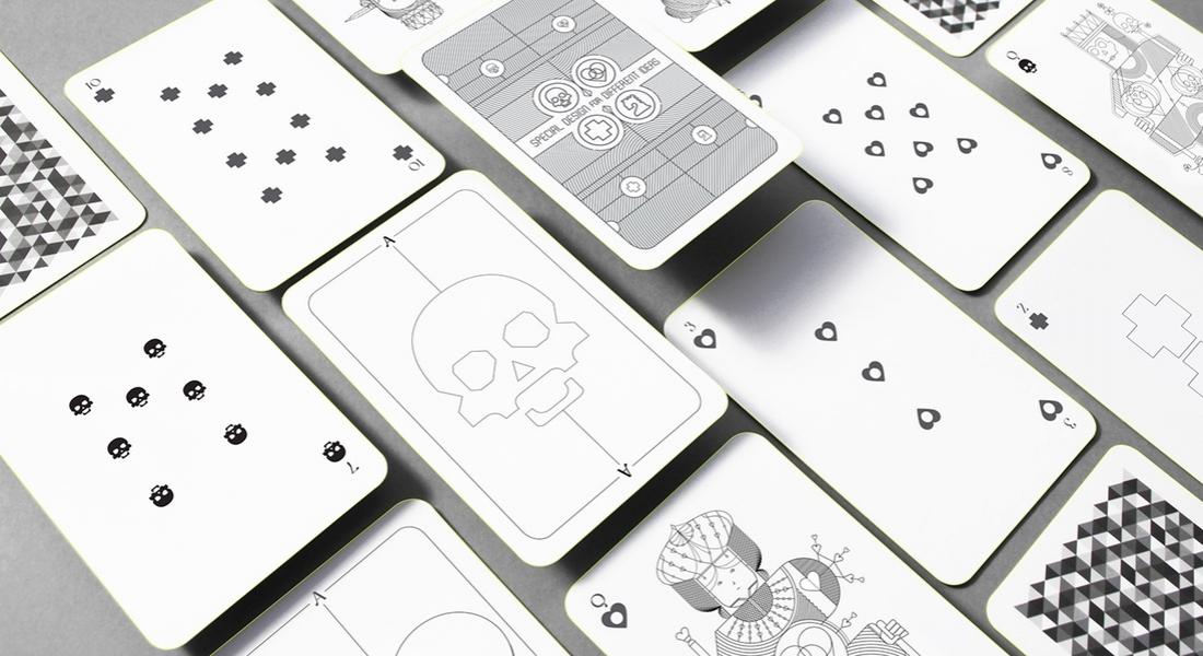 Oksal Yeşilok'tan İskambil Sembollerini Yeniden Yorumlayan Deste Tasarımı