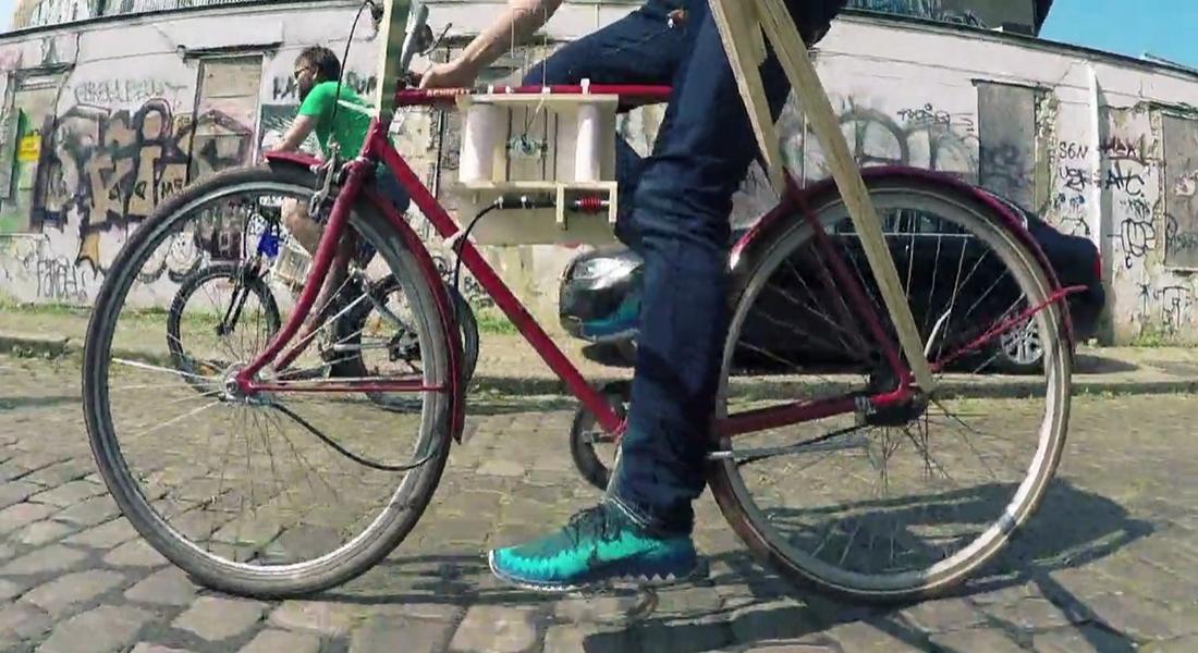 Yoldaki Pürüzleri Ölçen Bisiklet Sismografı