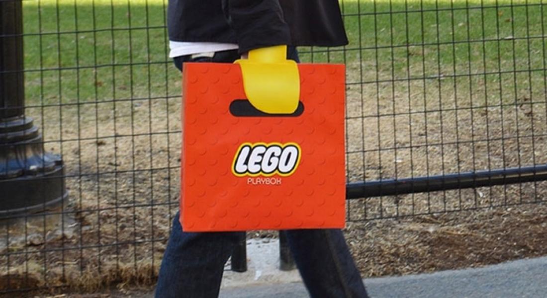 Elinizi LEGO'ya Dönüştüren Poşet Tasarımı
