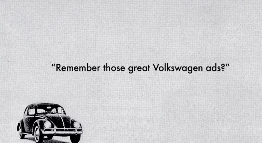 60'lı Yıllardaki Volkswagen Reklamlarının Hikayesini Anlatan Kısa Belgesel