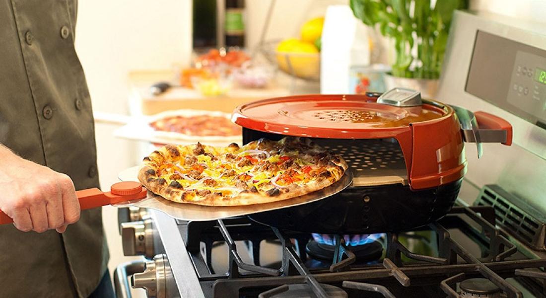 Pizzacıdaki Kadar Lezzetli Pizzaları 6 Dakikada Pişirebilen Fırın