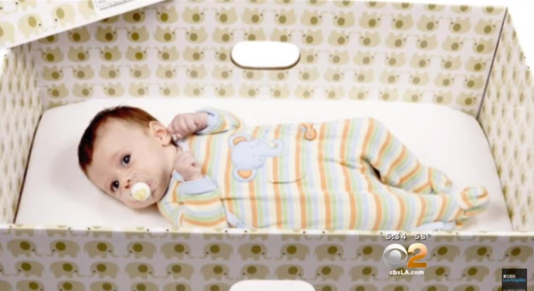 İskoçyalı Bebekler de Mukavva Kutularda Uyuyacak