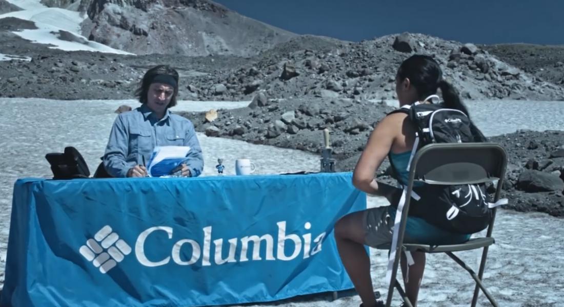 Columbia, İş Görüşmesi için Dağın Eteğine Tırmanabilecek Adaylar Arıyor