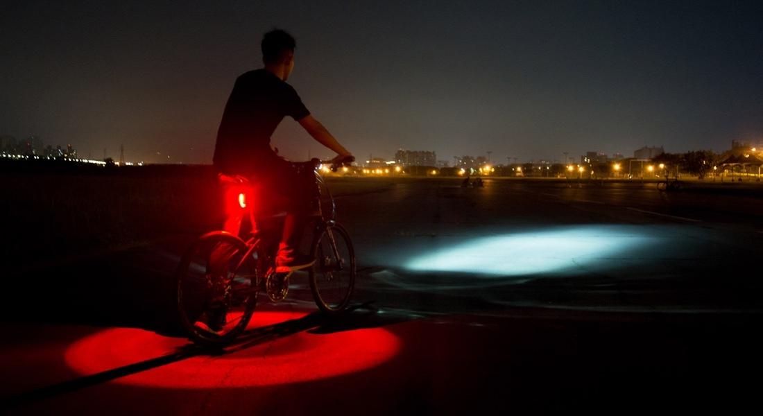 Çevresini 360 Derece Aydınlatan Bisiklet Lambası