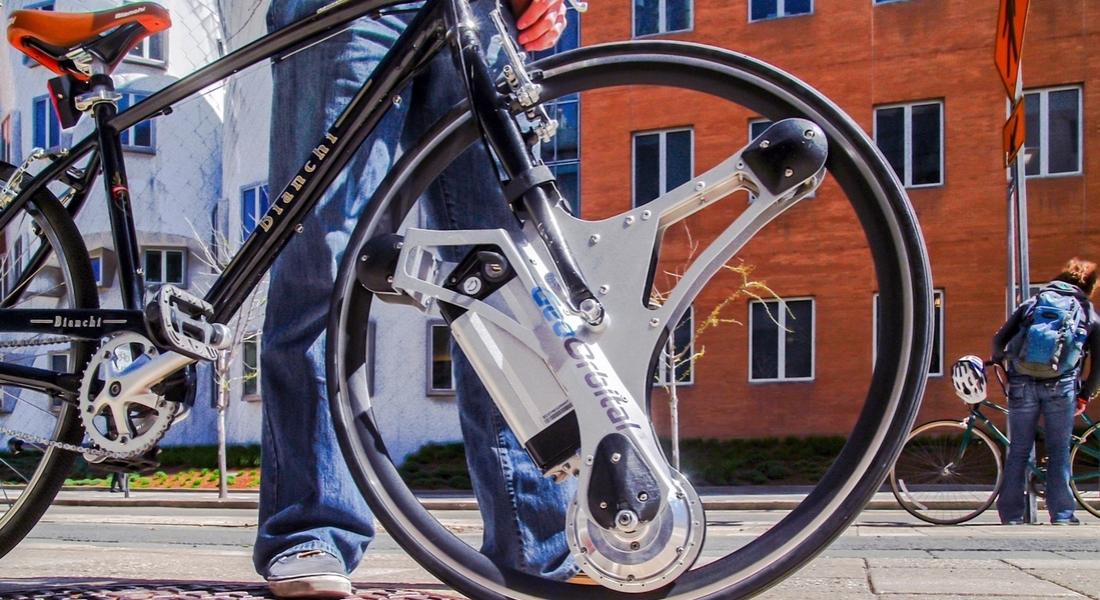 Her Bisikleti Elektrikli Hale Getiren Teker: GeoOrbital