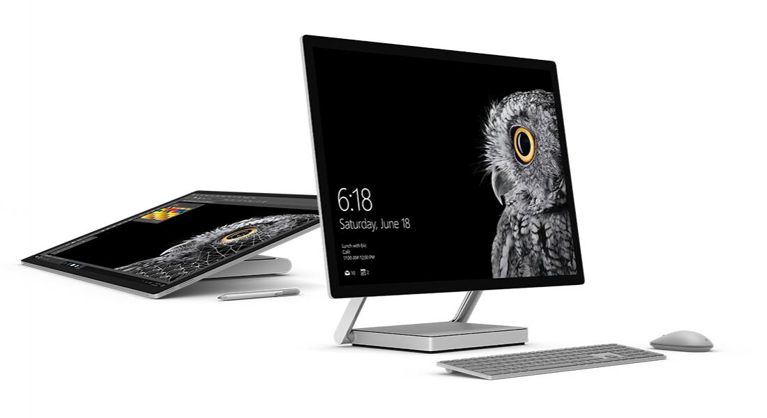 Microsoft'un Yaratıcılara Özel Yeni Bilgisayarı Surface Studio ve Diğer Yenilikleri