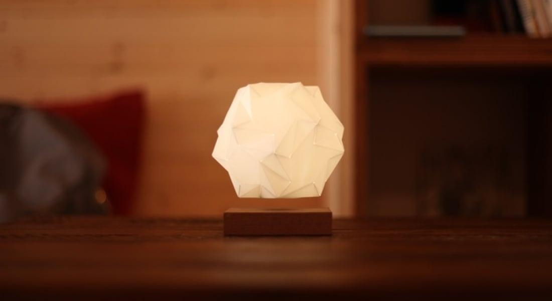 Yer Çekimine Baş Kaldıran Kristal Lamba: Glow