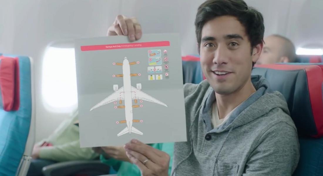 Zach King Rehberliğinde Uçuş Güvenliği Videosu