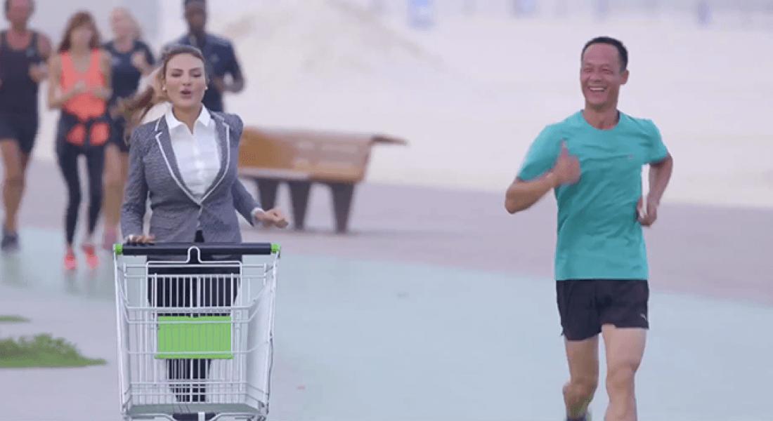 Sağlıklı Yaşama Teşvik Eden Alışveriş Arabası