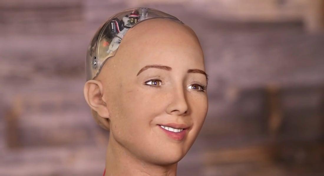 İnsansı Robot Sophia'dan Önemli Açıklamalar [Web Summit 2016]