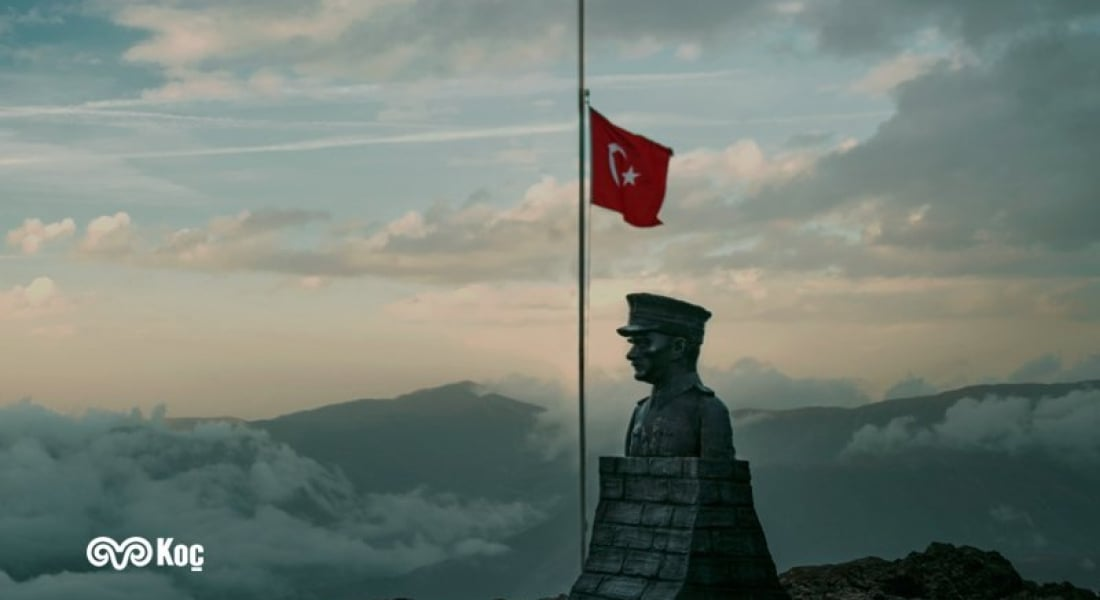 Koç Holding'den 10 Kasım Anma Filmi: #SanaBorçluyuz