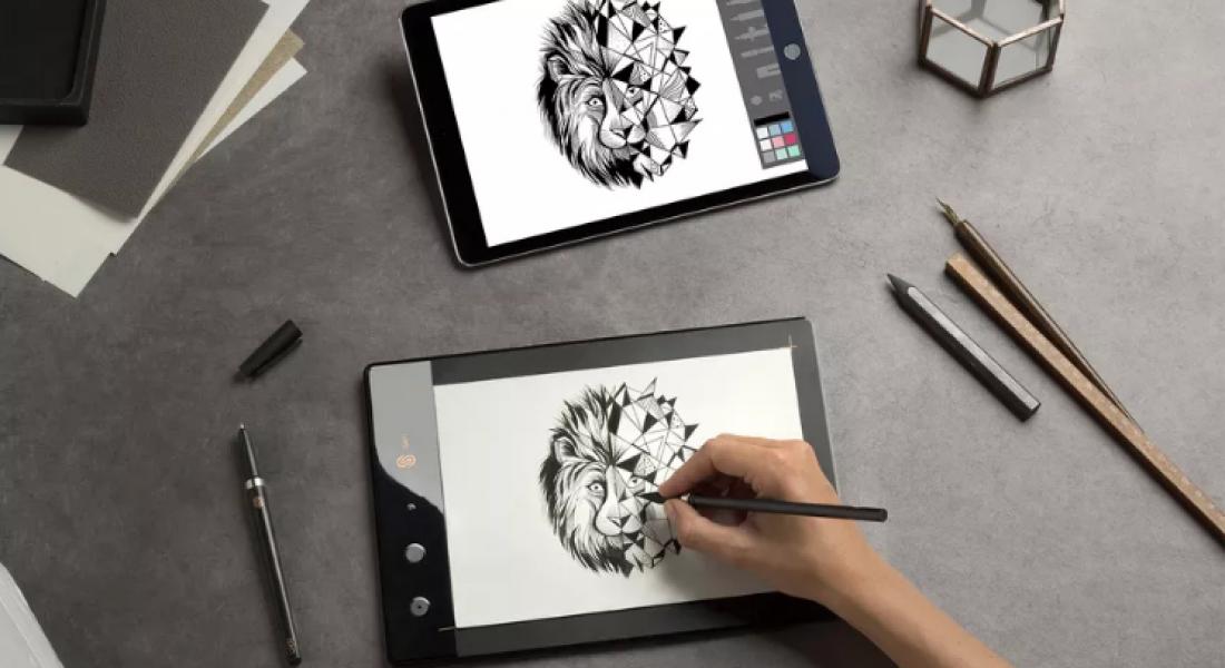 iSKN Slate, Kağıt Üzerindeki Çizimleri Aynı Anda Dijitalleştiriyor