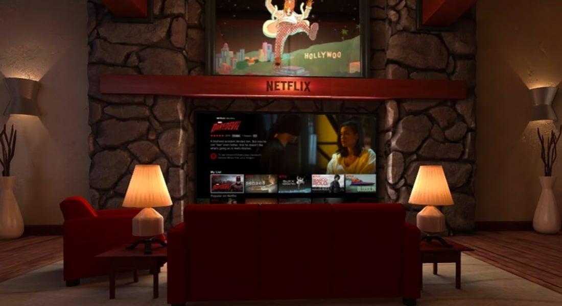 Sanal Gerçeklikle Netflix Keyfi
