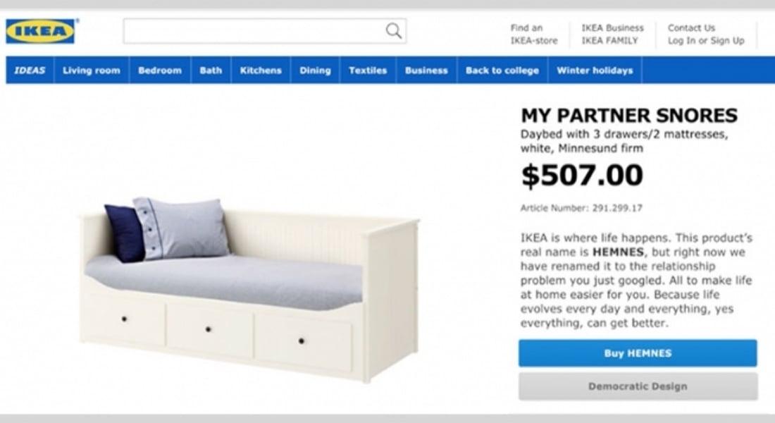 IKEA'dan İlişki Sorunlarınıza Kalıcı Çözümler