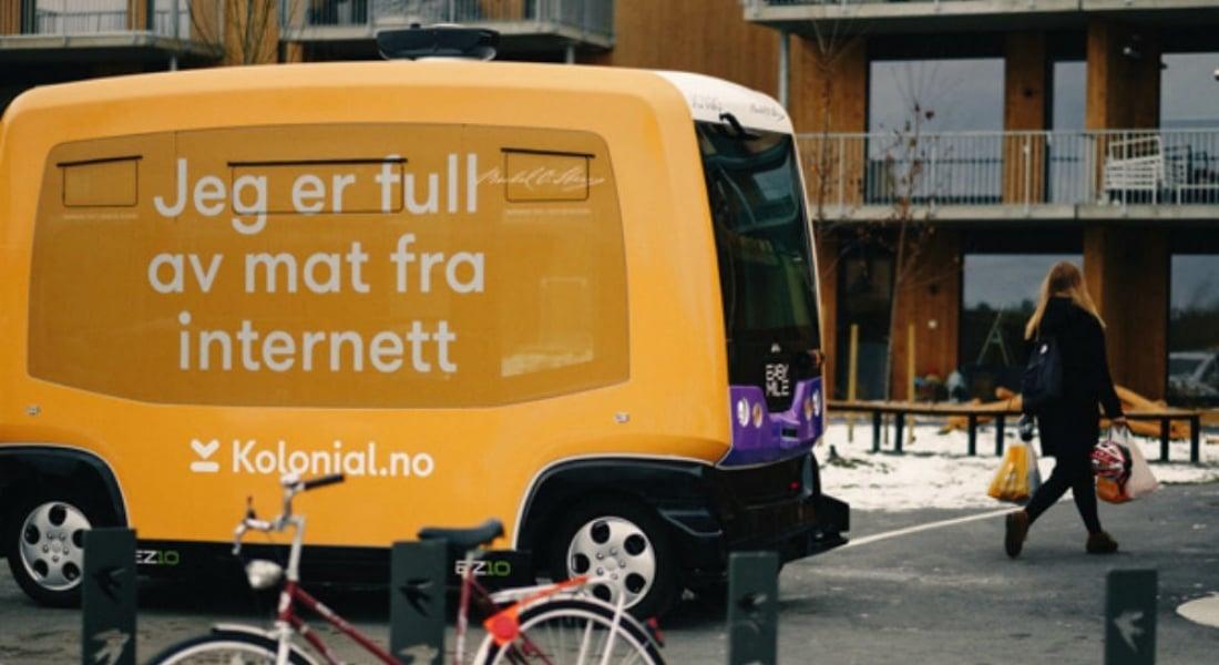 Norveç'te Sürücüsüz Araçlar İnternetten Verilen Siparişleri Teslim Edecek