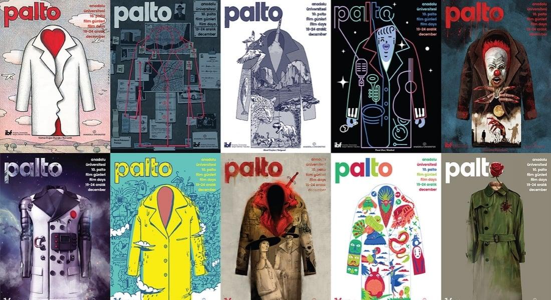 10. Palto Film Günleri için 10 Sanatçıdan Her Biri Farklı Temaya Sahip Posterler