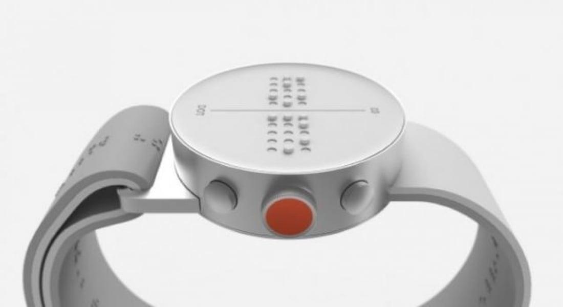 Görme Engelliler için Braille Akıllı Saat