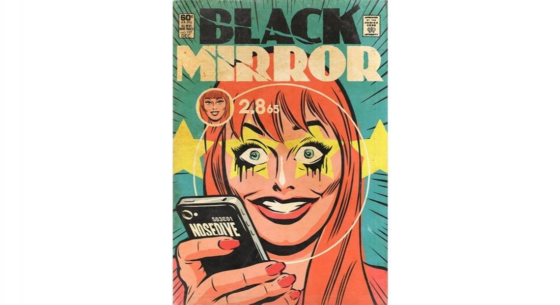Efsane Black Mirror Bölümleri Çizgi Roman Kapağına Dönüştü