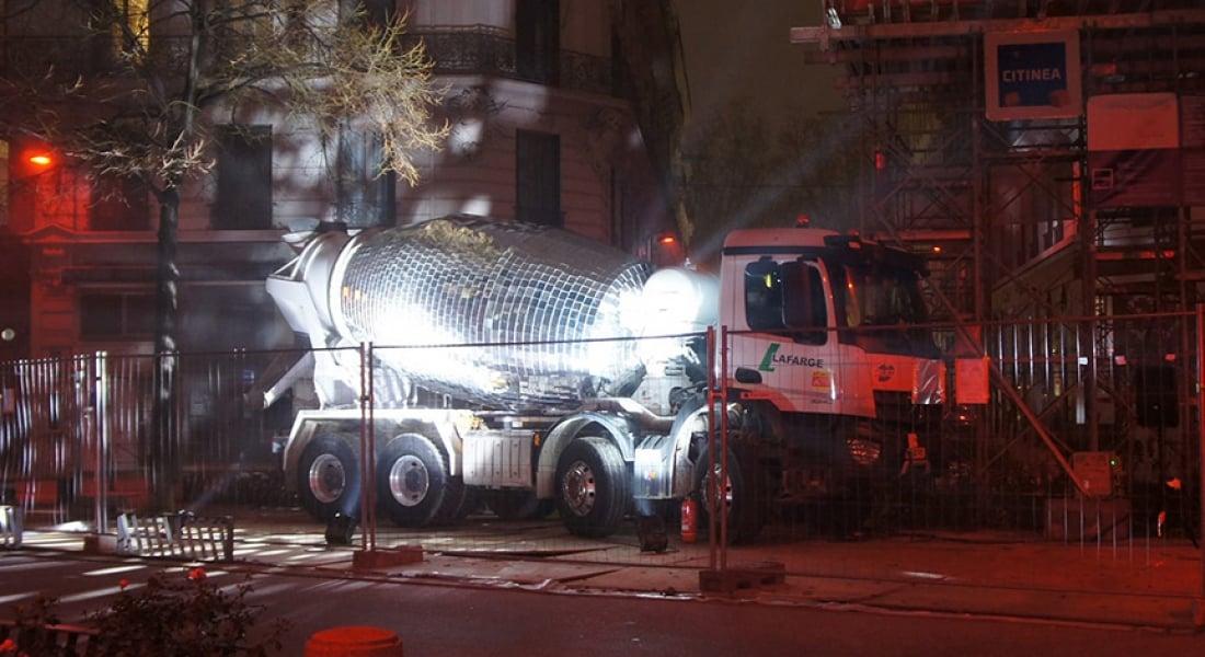 Disko Topuna Dönüştürülen Çimento Karıştırıcı