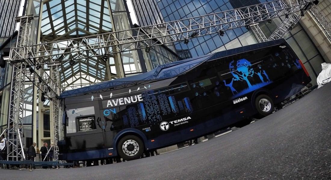 Yerli Malı Elektrikli Otobüs: Avenue EV