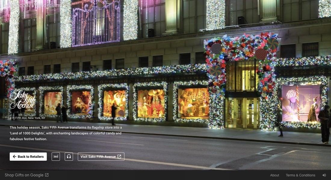 New York'un Yılbaşı için Süslenmiş Görkemli Vitrinlerine Sanal Ziyaret