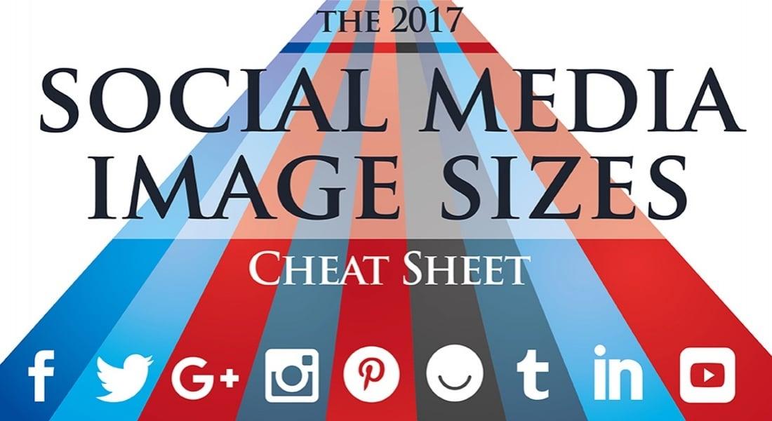 Popüler Sosyal Ağların 2017'de Kullanacağı Görsel Çözünürlükleri