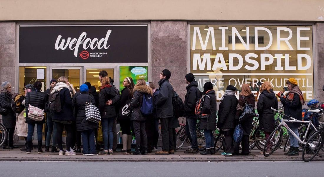 Danimarka'da Tüketim Tarihi Geçmiş Yiyecekler Satan Süpermarket İkinci Şubesini Açıyor