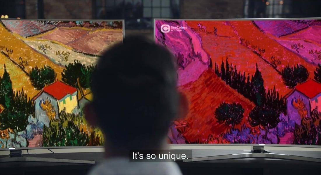Samsung'dan Renk Körlerine Renkleri Gösteren Uygulama