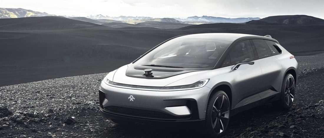 Tesla Rakibi Faraday Future'ın İlk Otomobili FF 91